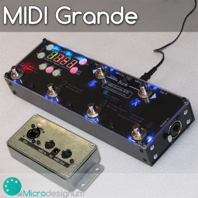 MIDI Grande with EtherCon connector