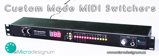 MIDI Controlled Relay Switcher