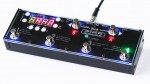 MIDI Grande 6F1D is a MIDI controller with blue backlight